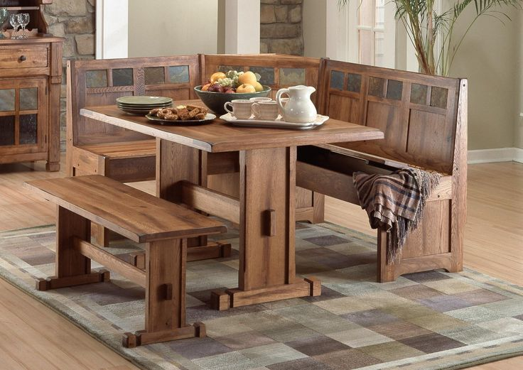 25+ Best Ideas About Bench Kitchen Tables On Pinterest