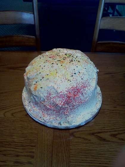 Exploding Cake Prank Items Youll Need 1x Balloon 1x Tray