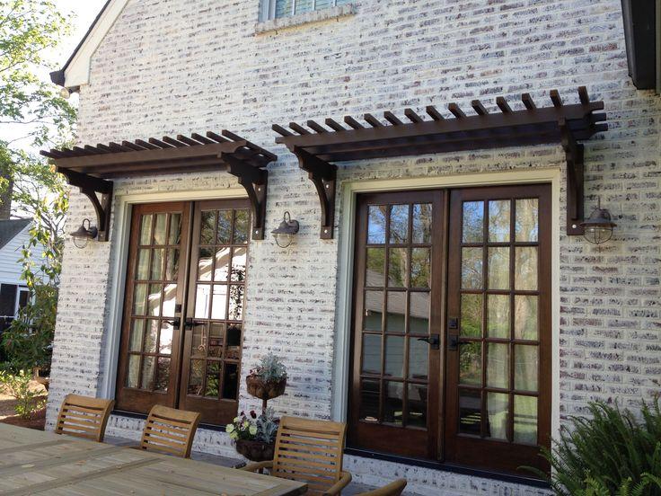 Trellis Over French Doors Window Amp Door Pergolas