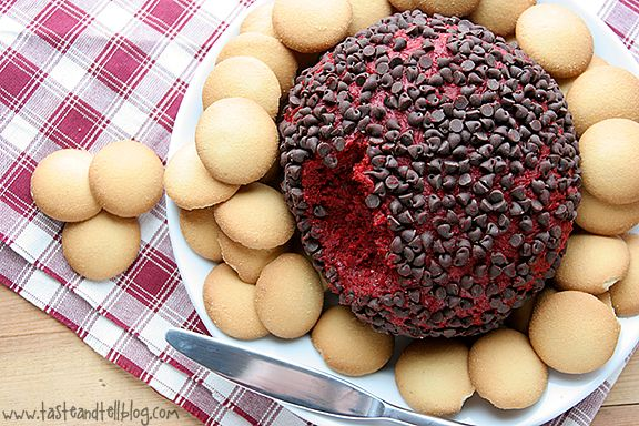 Red Velvet Cheese Ball  Ingredients