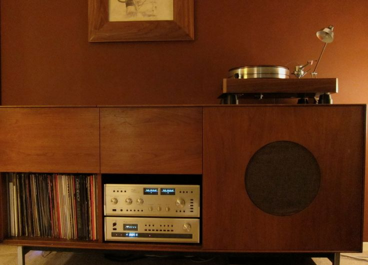 Vintage Stereo Cabinet WoodWorking Projects Amp Plans