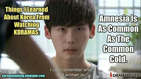 Image result for kdrama amnesia meme