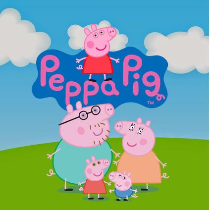 Peppa Pig 55 Clipart CDR Images Vector Graphics Free Mail