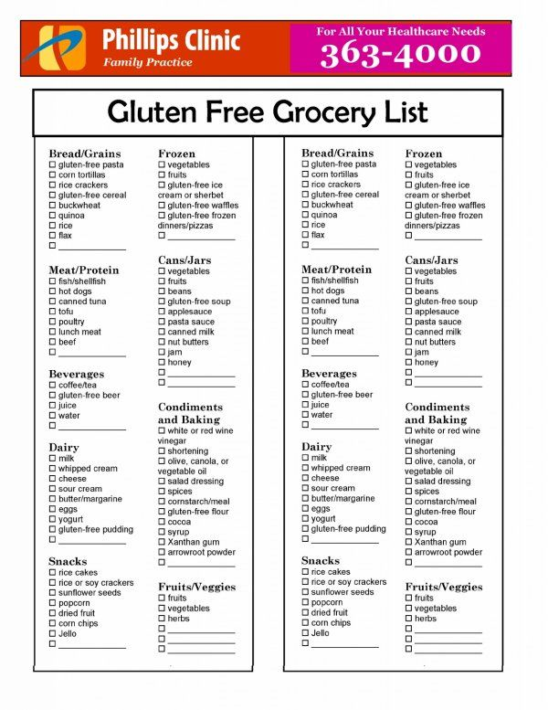 25+ best ideas about Gluten free list on Pinterest ...