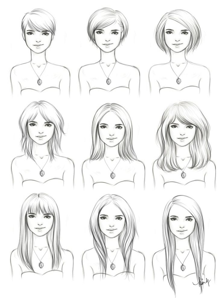 Cute pictorial showing how to grow your hair out with style :) I miss having the