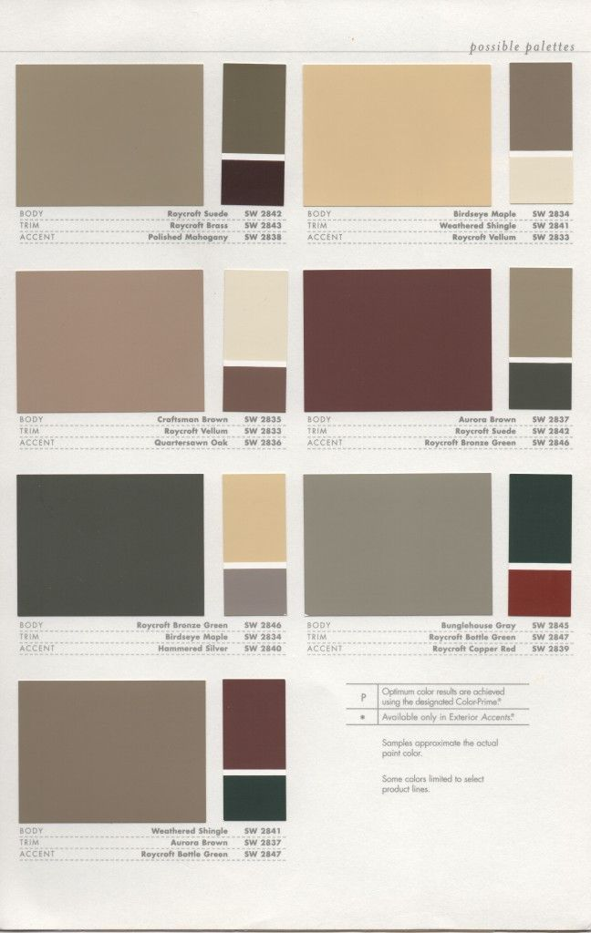 39 best images about 1920s house colors on pinterest on exterior house paint colors schemes id=99592
