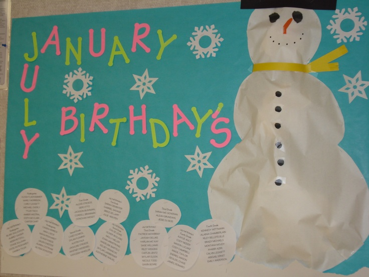 25 Best Images About Birthday Board Ideas For Work On