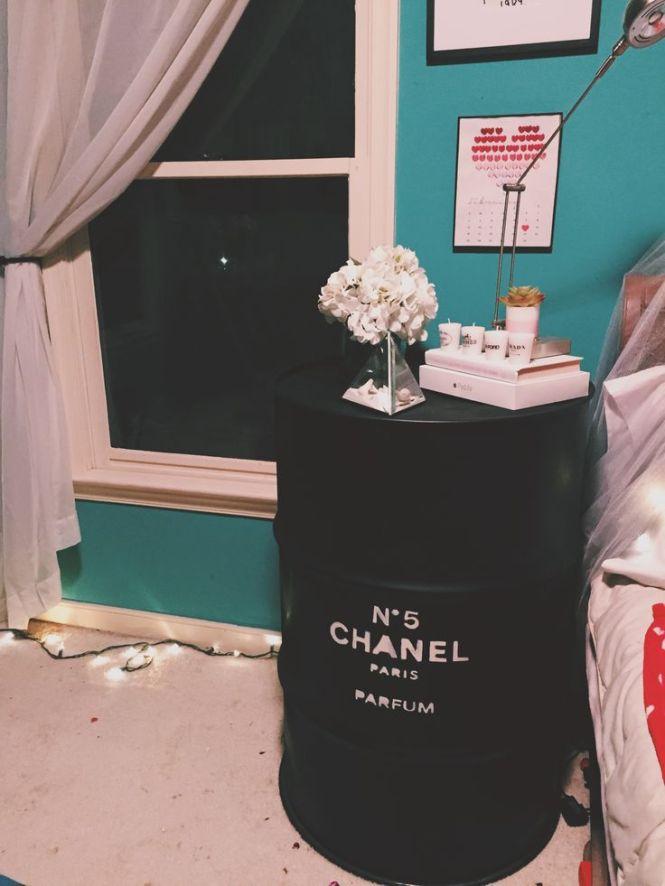 Diy Chanel Night Stand Tumblr Inspired Room Decor
