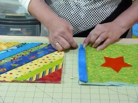How to join up Quilt as you Go blocks and borders – Quilting Tips & Techniques 074