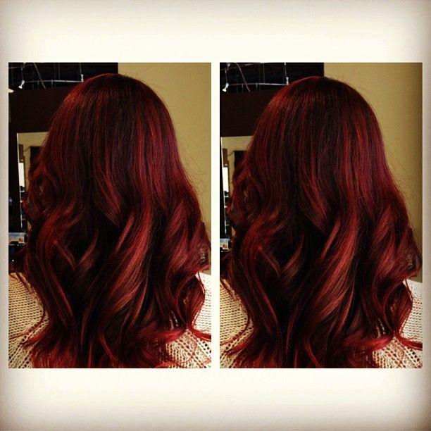 Rich Red Hair For Fall Debbie Arruda Arruda Arruda Lewis