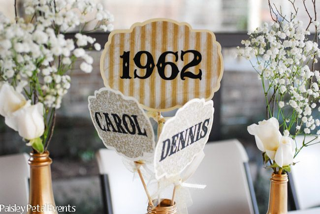 17 Best Ideas About Anniversary Centerpieces On Pinterest