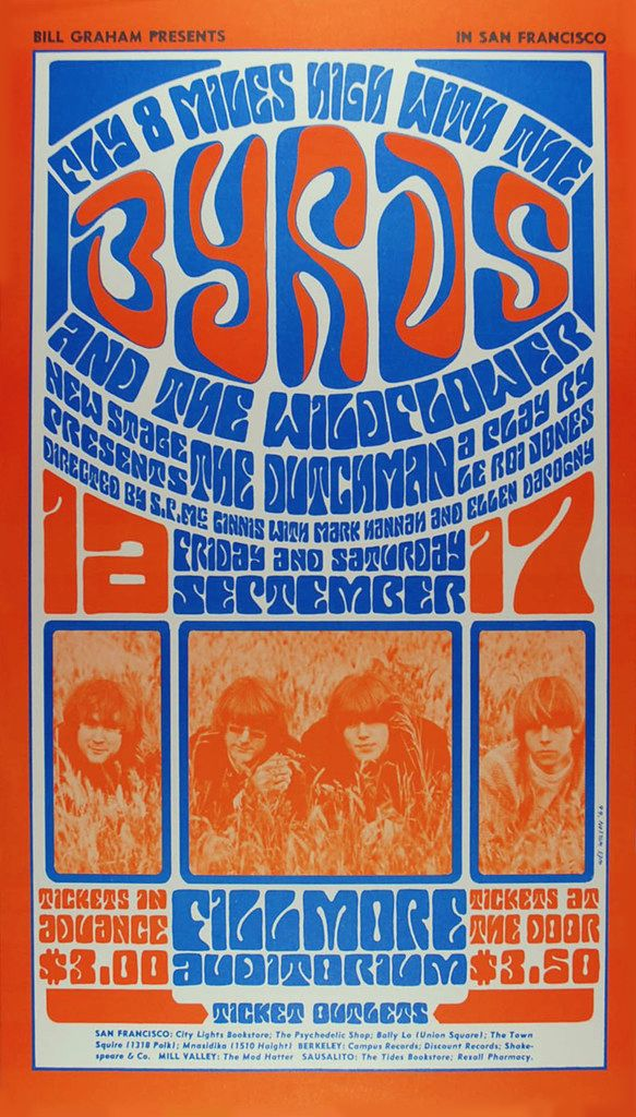 1970 West Posters Fillmore