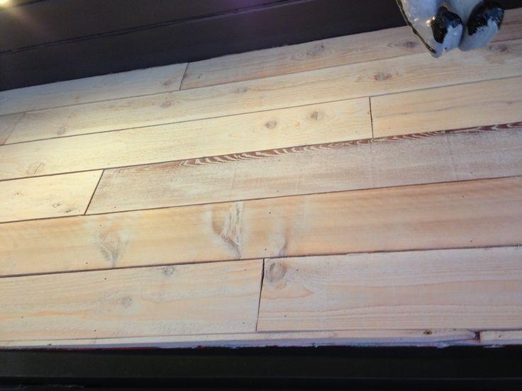 Color Stain Cedar Wall Board