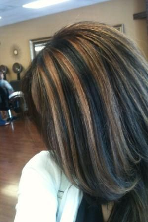dark natural base with dark caramel highlights by janice hair design color for me pinterest
