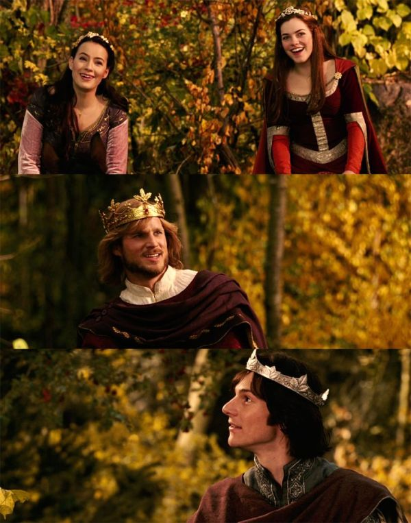 Once a king or queen of Narnia, always a king or queen ...