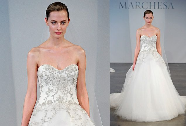 Delightful Details: A Tulle Ball Gown By @Marchesa