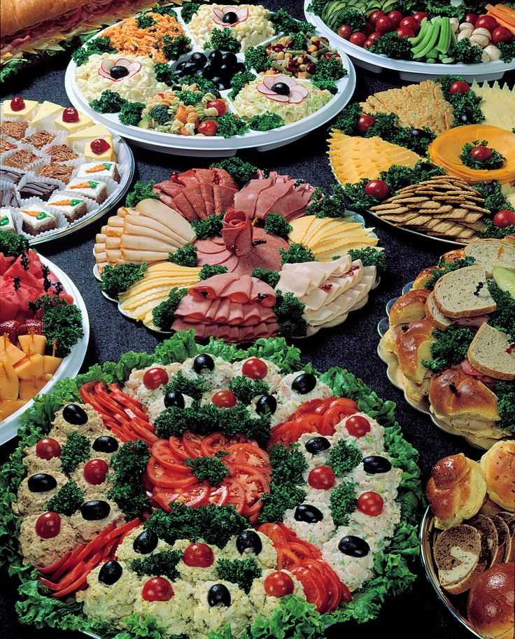 Our Catering Selections Include Cold Cut Platters