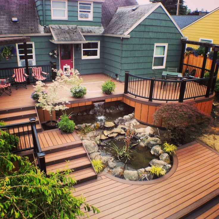 1000+ images about Multi level deck on Pinterest | Patio ... on 2 Level Backyard Ideas id=15456