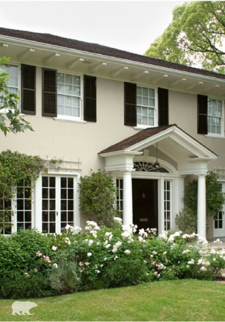 from polished landscaping to the perfect color scheme on behr exterior house paint photos id=67898