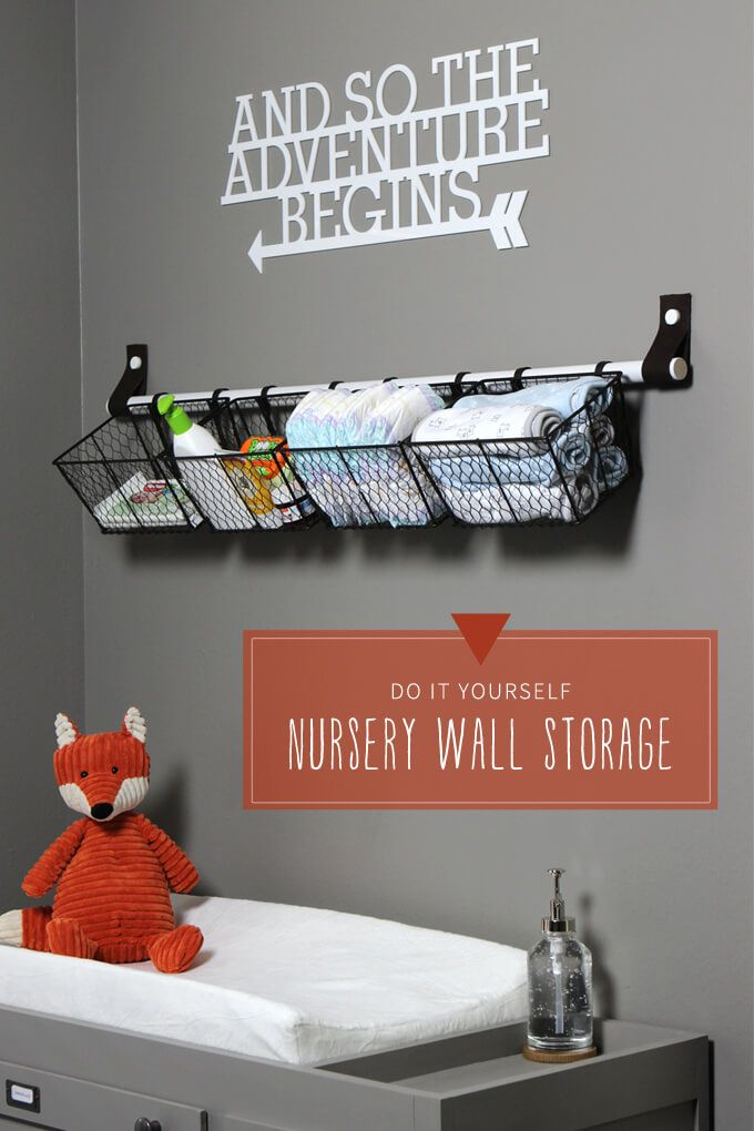 Best 20 Changing Table Storage Ideas On Pinterest