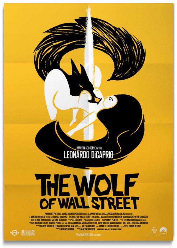 the wolf of wall street fan art poster by oscar correa on wolf of wall street id=92616