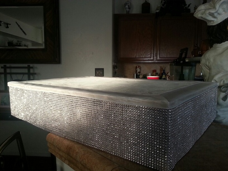Full Sheet Cake Stand Rent A Bling Box For Your Cake To