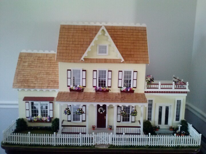 Real Good Toys Vermont Farmhouse Jr With Conservatory And
