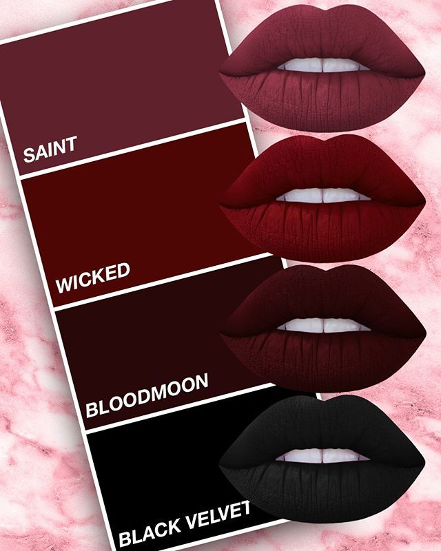 BURGUNDY IS BOSS.  Shop the shade of the season on limecrime.com!