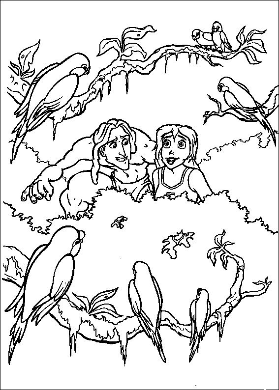 53 best images about tarzan coloring pages on pinterest