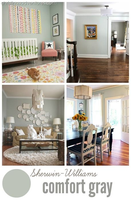 Comfort Gray by Sherwin-Williams
