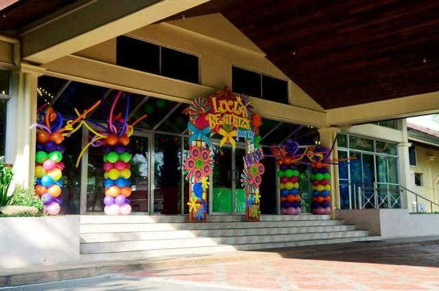 Lucia S Pista Sa Nayon Themed Party Venue Decor