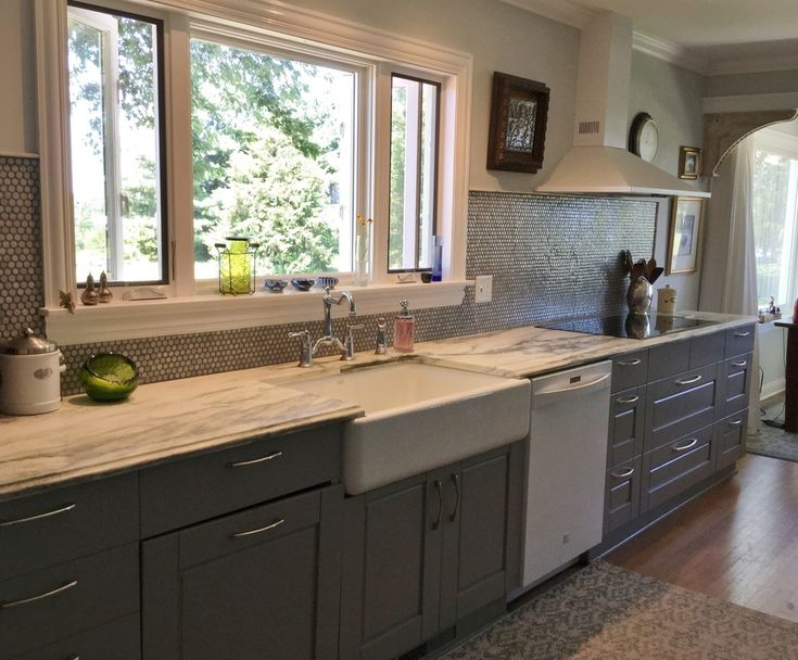 454 best images about kitchen on pinterest on farmhouse kitchen no upper cabinets id=85059