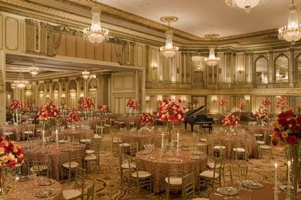 The Grand Ballroom At The Palmer House Hilton Chicago