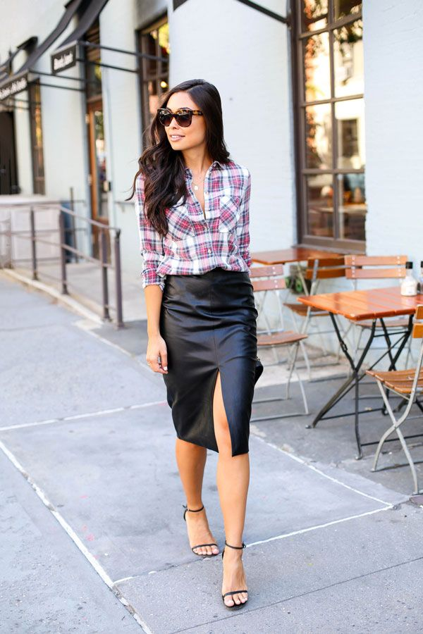 25 Best Ideas About Leather Pencil Skirts On Pinterest