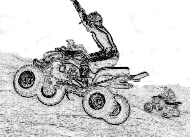 4 Wheeler Coloring Pages 234 Printables Pinterest
