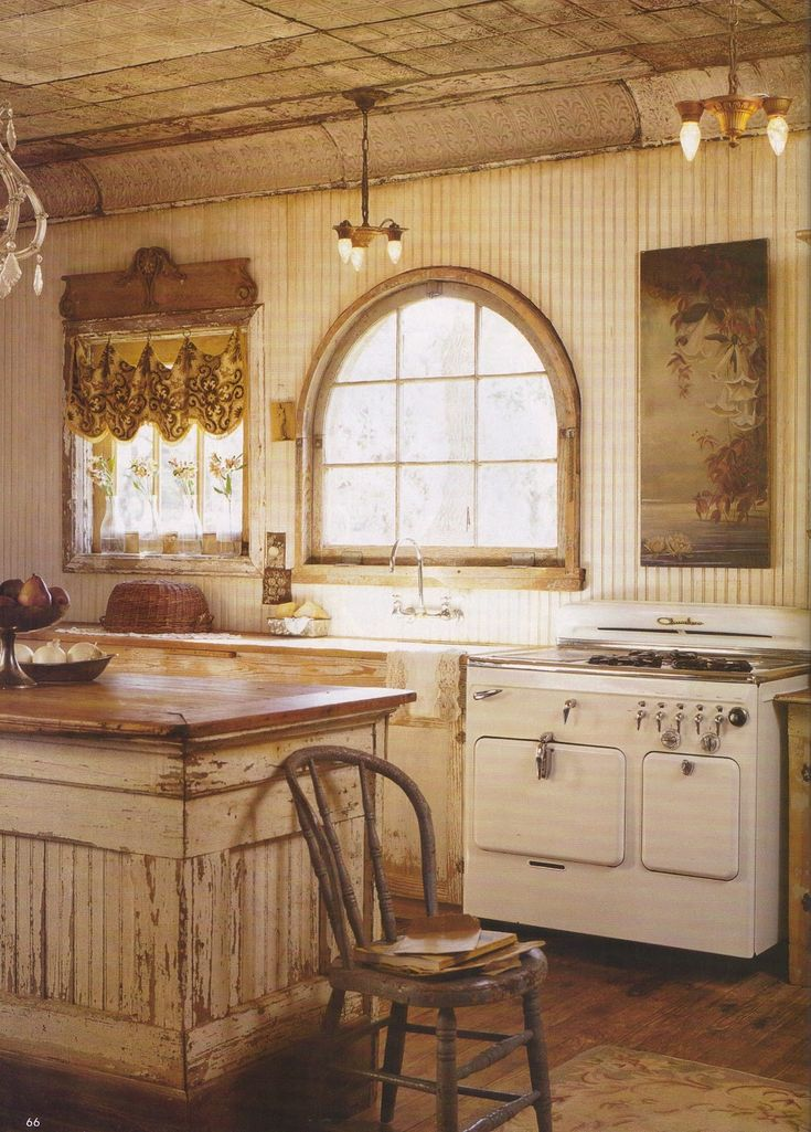 I Would Love To Have An Old Farm House With A Kitchen That