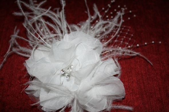 Make Your Own Fascinator Feathers Tulle French Netting