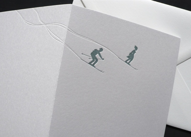 78 Images About Cards Ski On Pinterest Xmas Greetings