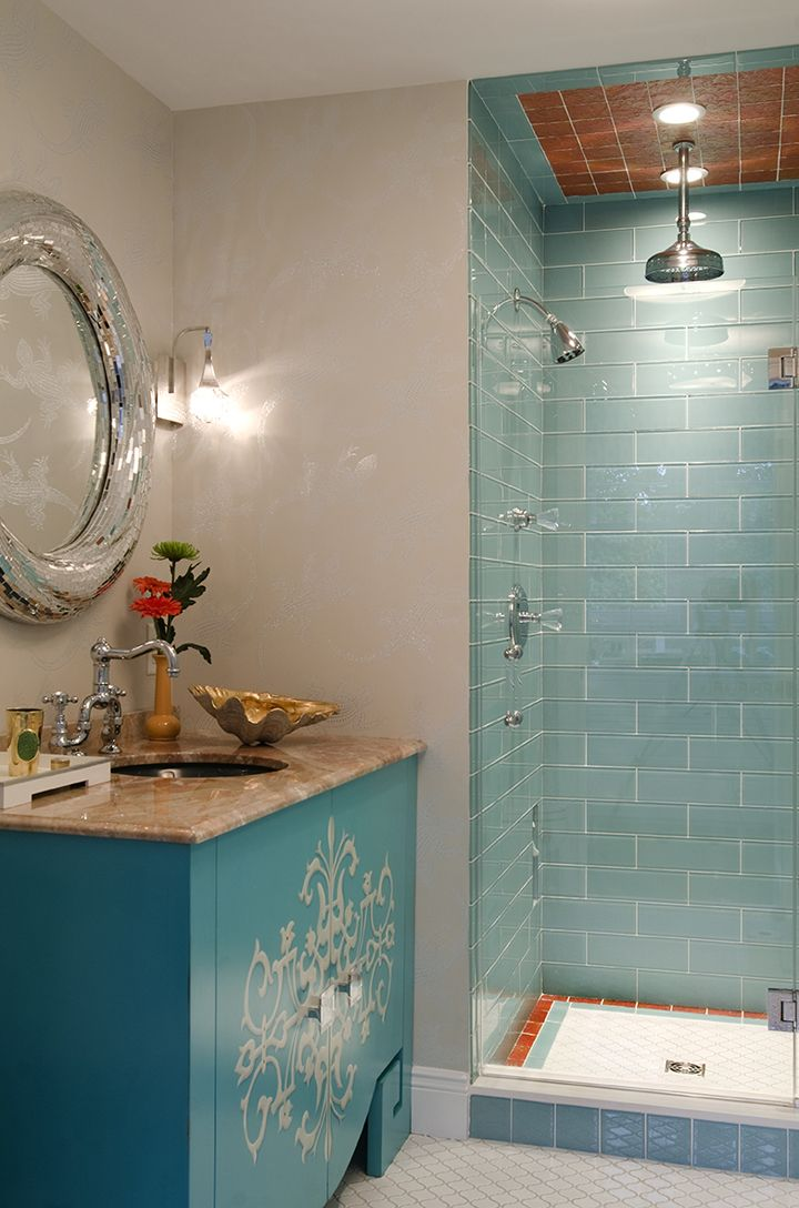 2038 Best Images About Bathroom Love On Pinterest Soaking Tubs House Of Turquoise And Coastal
