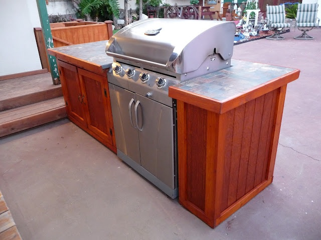 BBQ Island #DIY #BBQ   Our Finished Projects   Pinterest ... on Diy Patio Grill Island id=13543