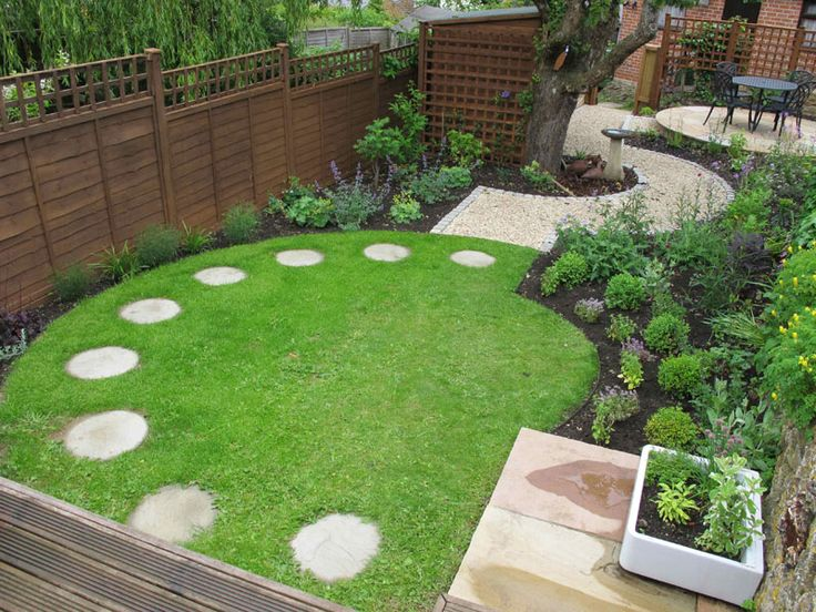 Small Square Backyard Landscaping Ideas | Mystical Designs ... on Landscaping Ideas For Rectangular Backyard  id=71557