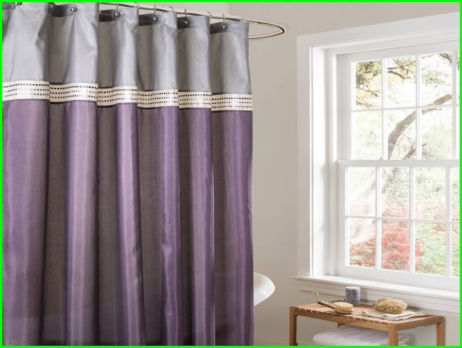 Purple And Gray Shower Curtain Ideas For The House Pinterest Gray Gray Shower Curtains