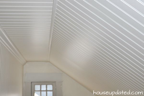 DIY How To Install Beadboard On Walls And Ceilings House Updated House Ideas Pinterest