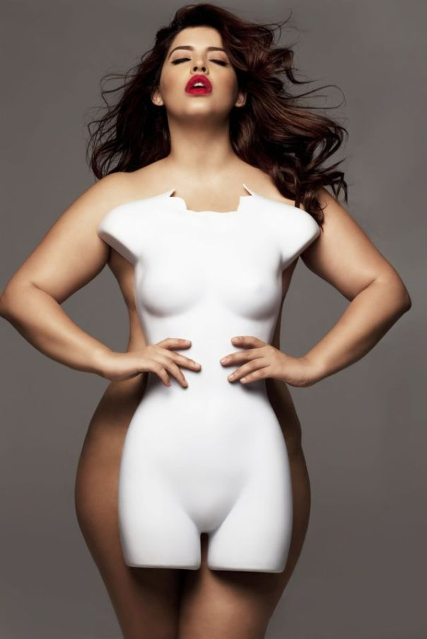 "The Shocking Truth About Plus Size Models // ""No one should be encouraged to starve themselves or hate their bodies because they don't match up to the unrealistic, photoshopped fictions that decorate our ads and tabloids. We would all do well to embrace a more realistic, natural, and positive attitude toward our bodies"":"