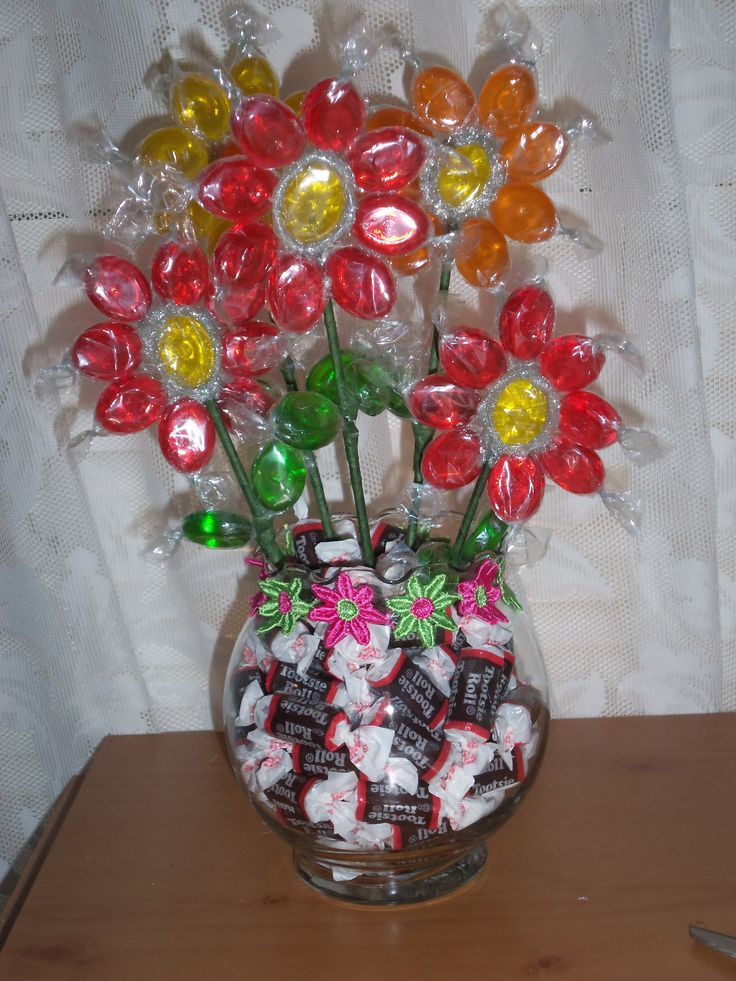 17 Best Images About Candy Bouquets On Pinterest How To