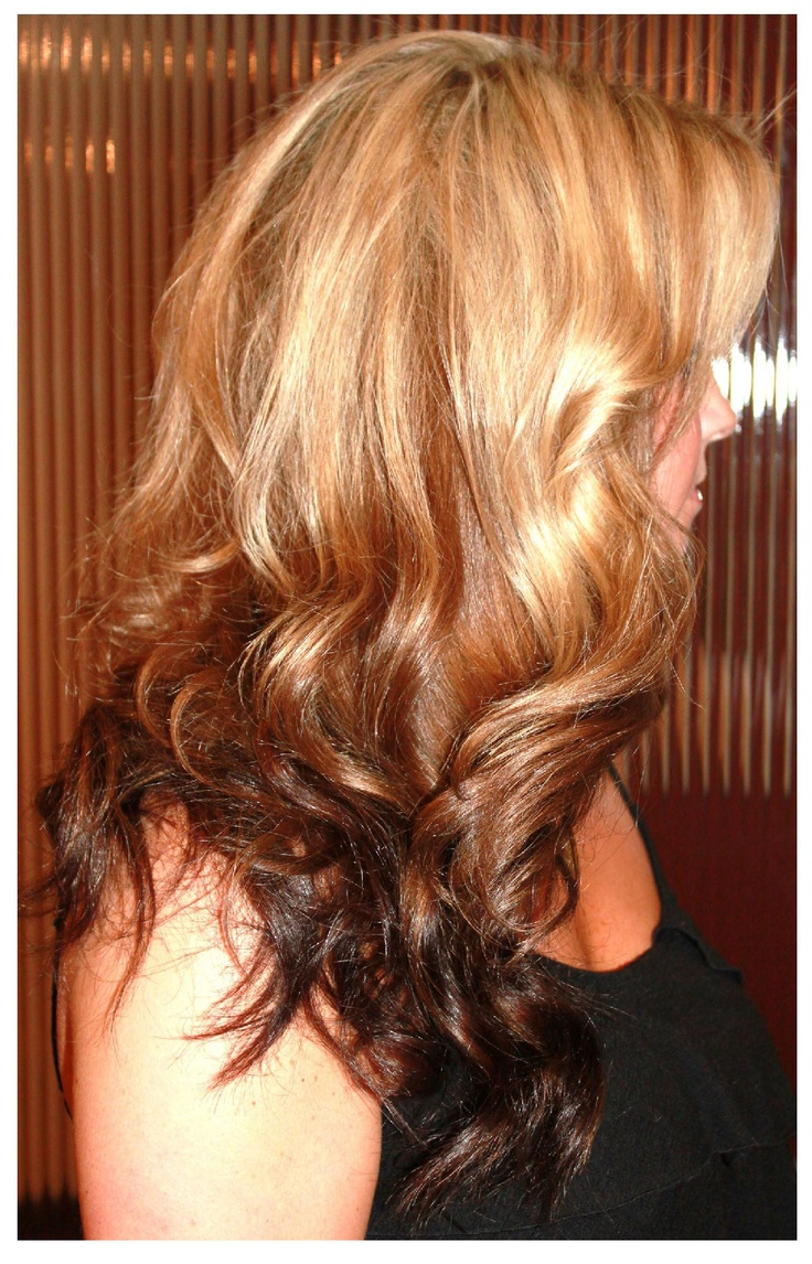 Reverse Ombre Hair I Dig Pinterest Beautiful Back