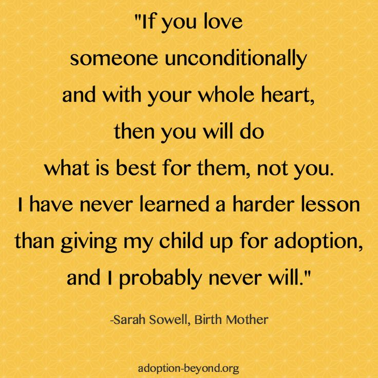 Birth Mother Adoptive Mother Quotes