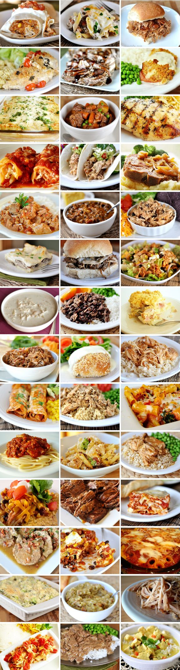 40+ Make Ahead Meals! Great idea if having a baby or surgery!