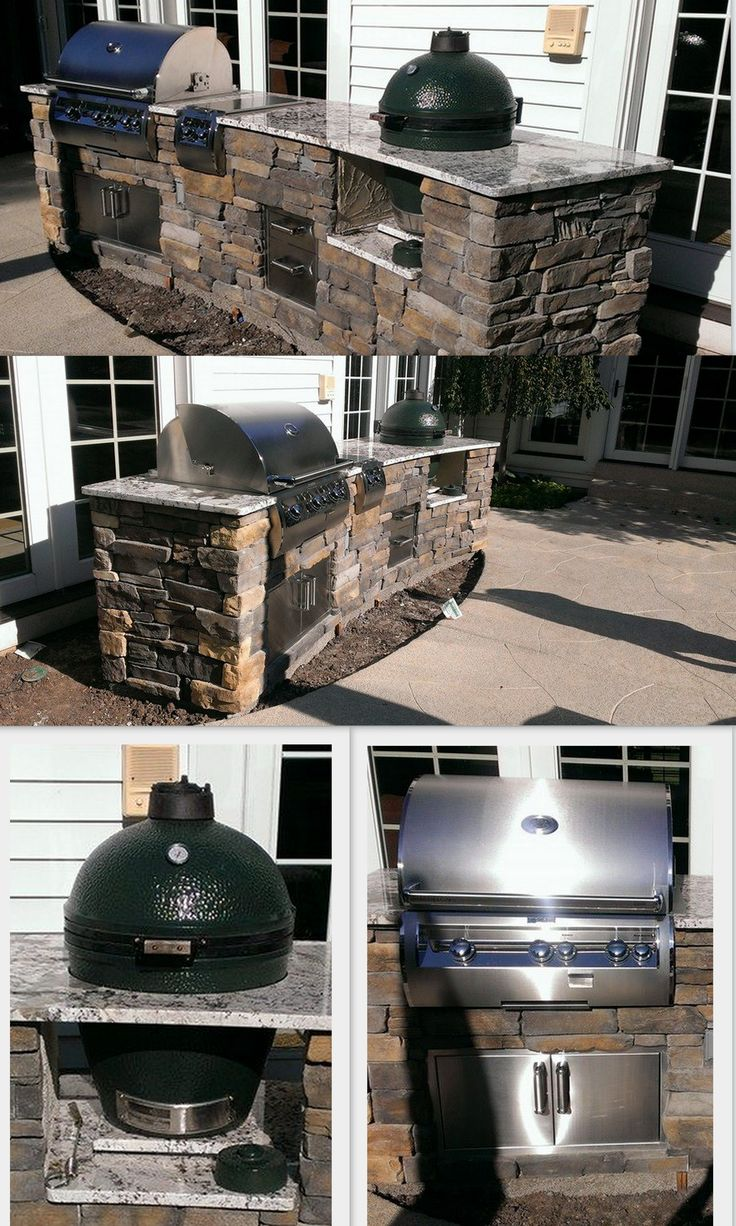 25 best images about outdoor kitchen w big green egg on pinterest hot dogs patio and the cowboy on outdoor kitchen natural id=37021