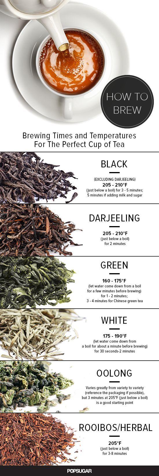 Learn how to brew tea like